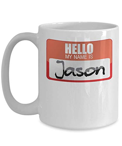 My Name Is Jason Halloween Costume Horror Film Scary Movie Trick or Treat Gift Mug   Simple Halloween Costume Idea -