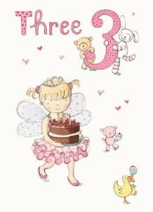 girl birthday cards to print free