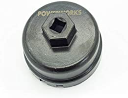 RAV4 POWERWORKS Compatible with Oil Filter Wrench Scion Toyota Camry Lexus and More 2.0 to 5.7 Liter Engines with 64mm Cartridge Style Oil Filter System Highlander Tacoma Tundra Sienna