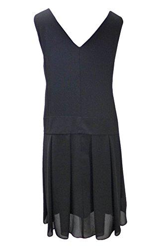 DangerousFX - Vestido - Vestido tulipán - Sin mangas - para mujer negro