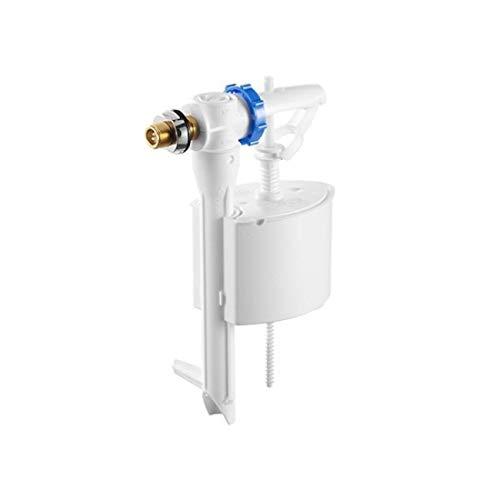 Roca A822502400 Mecanismo de alimentación lateral con rosca metálica, Blanco