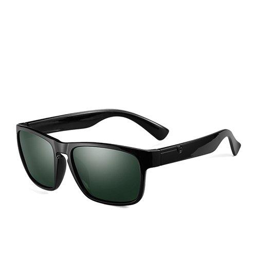 Black C4 Fashion Gafas Oscuro Hombre Azul Gafas Gafas de C1 Guía Humo Square G15 Sol polarizadas de Sunglasses TL Viaje xgUBOwqfw