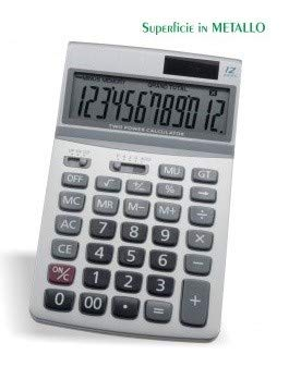 Calculadora de mesa 12 dígitos Pantalla inclinable y superficie de ...