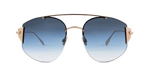 Christian Dior Stronger sunglasses 000NE Gold/Blue gradient lenses new