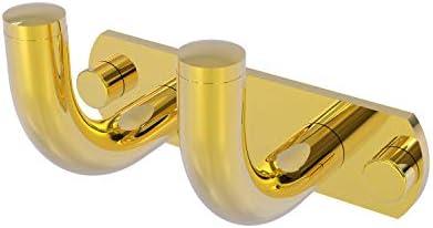 Allied Brass RM-20-2-PB レミコレクション 2ポジション マルチフック 光沢真鍮