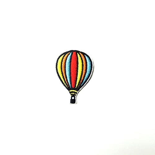 Hot Air Balloon Patch Iron-On/Sew-On Embroidered Motif Applique TY-229