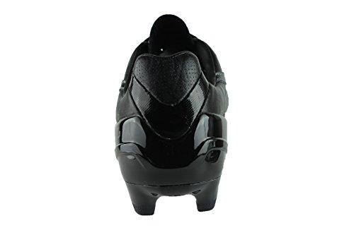 Puma - Botas de fútbol de cuero para hombre negro negro 39