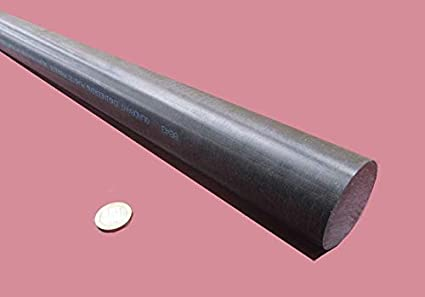 """1//2/"""" Round x 12/"""" long Acetal Delrin Rod New"""