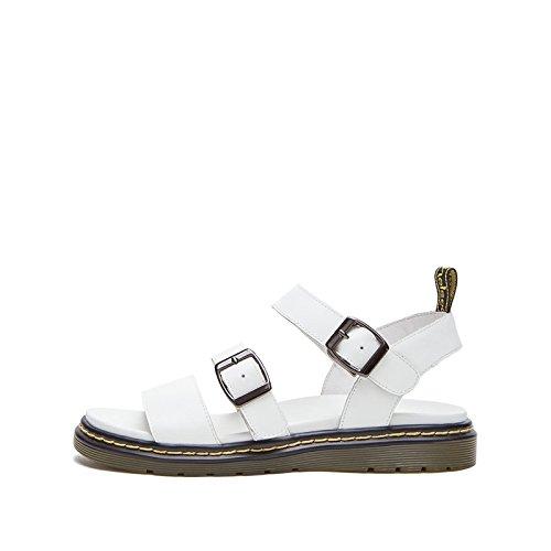 DHG a moda da Sandali basso alla basso casual donna piatti alti tacco tacco Nero Sandali con Tacchi Pantofole estivi Sandali 34 r4ry1f6