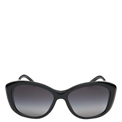 De Mixte Burberry Lunettes gradient black Noir Soleil wzCTS5Cq