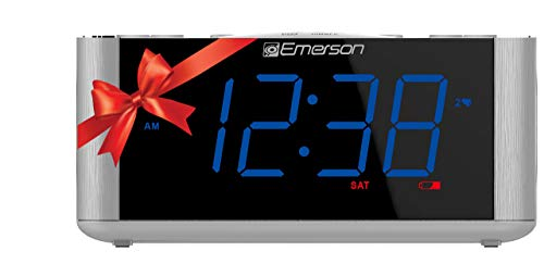 Emerson SmartSet Alarm Clock Radio CKS1708 (Renewed)