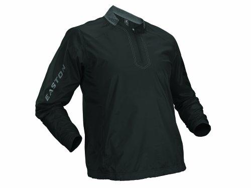 - Easton Men's Magnet Long Sleeve Batting Jacket, Black, Medium