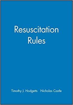 Book Resuscitation Rules by Hodgetts Hodgetts (1999-10-10)
