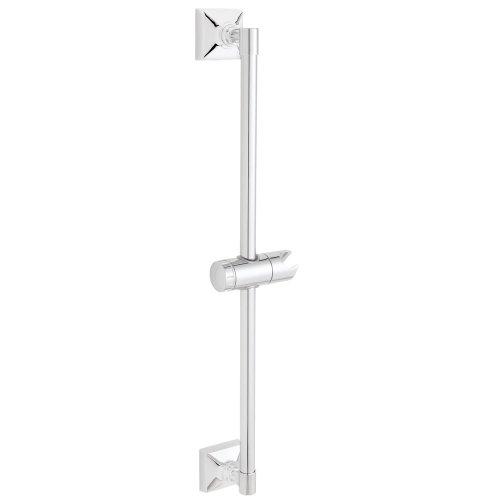 Slide Handheld (Speakman SA-1302 Rainier Adjustable Slide Bar for Handheld Shower, Polished Chrome)