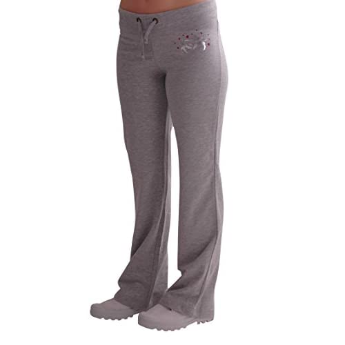 31M2f6CEN4L. SS500  - Eyecatch - Casual Graphic Ladies Joggers Jogging Tracksuit Bottoms