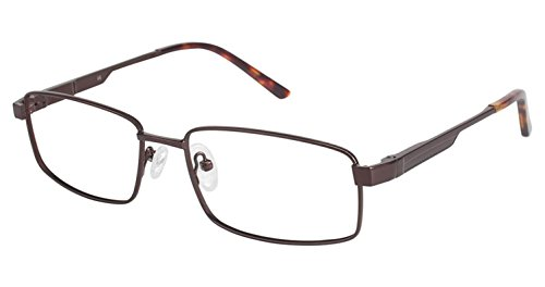 LAmy C By 617 Eyeglass Frames - Frame BROWN / BROWN, Size -