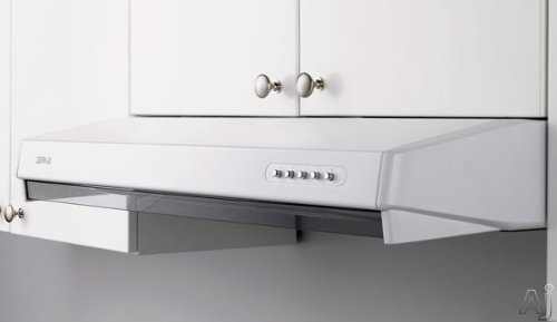 Zephyr ES1-E30AS 280 CFM 30 Inch Wide Under Cabinet Range Hood with Fluorescent, Stainless Steel by Zephyr