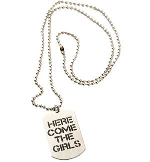 Girls Army Dog Tags Hen Night Party Fancy Dress Costume by (Hen Night Army Costumes)