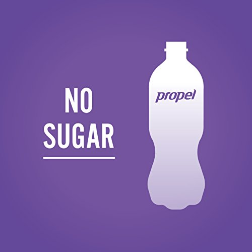Propel Water Grape Flavored Water With Electrolytes, Vitamins and No Sugar 16.9 Ounces (Pack of 6) by Propel (Image #2)