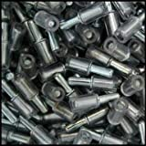 WIDGETCO 3mm Glass Shelf Pins w/ Vinyl