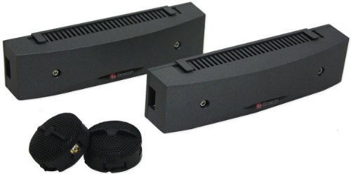 Boston Acoustics Ists 100 Watt 1 Inch Component Dome Tweeters with Crossovers and Multiple Mounting Accessory Options Included
