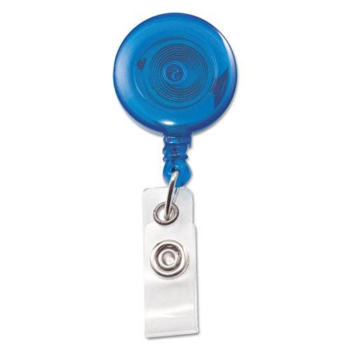 (AVT75472 - Advantus Translucent Retractable ID Card Reel)