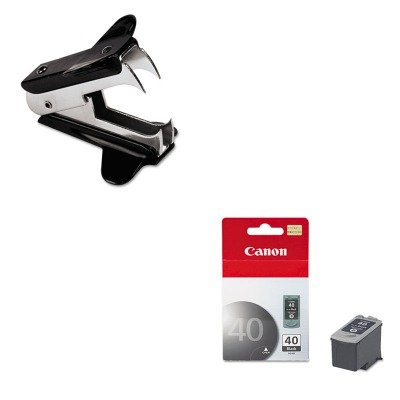 KITCNMPG40UNV00700 - Value Kit - Canon PG40 PG-40 Ink Tank (CNMPG40) and Universal Jaw Style Staple Remover ()