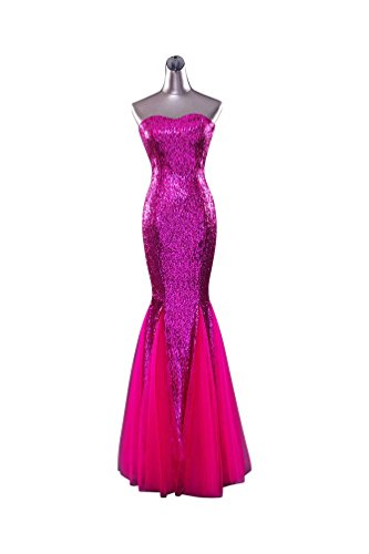 Beauty Rosarot Kleid Rot Emily Damen FqwqXH7