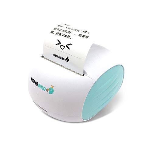 DJK Impresora de Fotos de Bolsillo WiFi, USB Mini portátil de ...