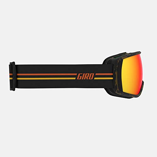 Giro Balance Adult Snow Goggles - GP Black/Orange Strap with Vivid Ember Lenses (2020)