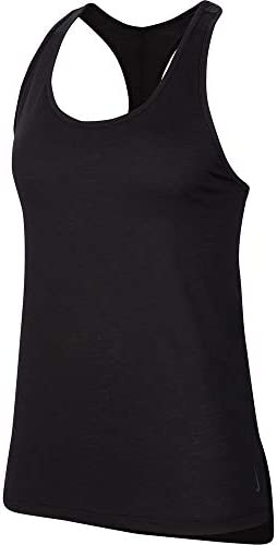 ウィメンズ ヨガ レイヤー タンク トレーニングシャツ (CQ8827) (010)ブラック L