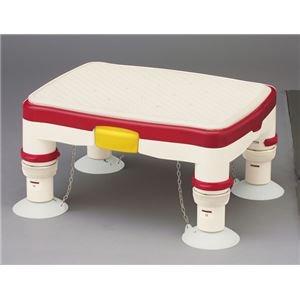 アロン化成 浴槽台 安寿高さ調節付浴槽台R (1)ミニ レッド 536-484 [簡易パッケージ品] B076KQZY1V