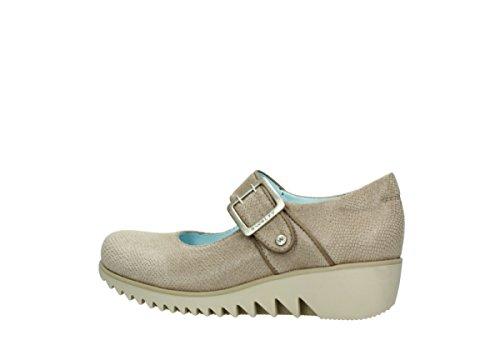 mujer Taupe 20150 para de Sandalias vestir Leather Wolky xHnFvqI