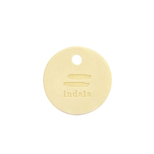 Indaia Car Fragrance Diffuser Car Air Freshener Perfume Aromatherapy ideal for car bag wardrobe and luggage (ORANGE ()