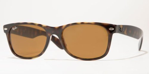 Ray-Ban NEW WAYFARER - YELLOW/BROWN TORTOISE Frame CRYSTAL BROWN Lenses 52mm - Polarized Ray Ban New Tortoise Wayfarer