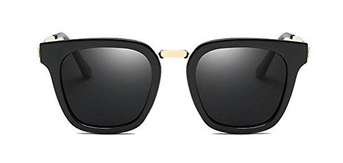 GAMT Polarized Square Sunglasses Wayfarer Vintage Sun Glasses for Women (Black, - Black Sale Friday Glasses