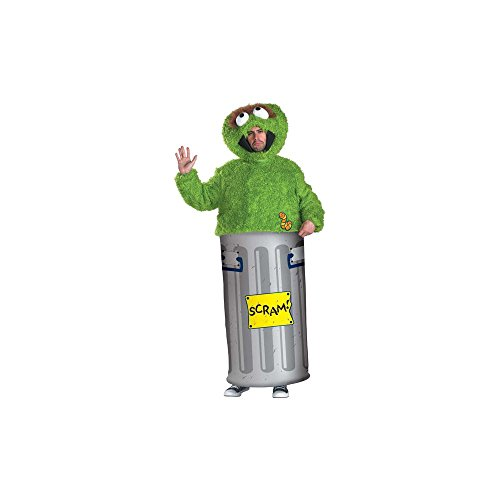 Disguise - Men's Oscar The Grouch Costume - 38-40 -