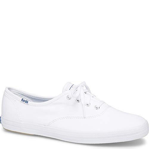 Keds Women'sChampion Originals Sneakers, White, 9 S