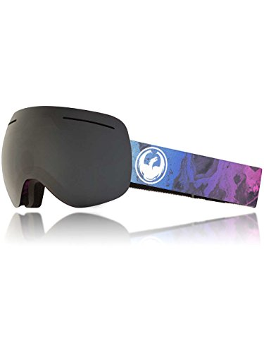 Dragon Alliance X1 Ski Goggles, Large, Multicolor, Ink/Dark Smoke - Dragon X1