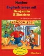 Englisch lernen mit Benjamin Blümchen, Bilderbuch u. Lern-Hörspiel-CD
