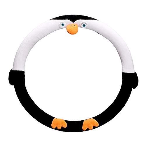 Rabusion Coprivolante Simpatico Cartone Animato Mickey Car Accessori Auto Coprire Le Donne Coperchio Volante Whee Minnie