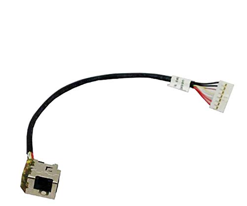 Sunmetro ® New AC DC Power Jack Harness Plug Cable for HP Pavilion DV7-6000 dv7-6001xx dv7-6070ca dv7-6113cl dv7-6123cl dv7-6135dx dv7-6143cl dv7-6153nr dv7-6154nr dv7-6156nr dv7-6157cl dv7-6157nr dv7-6158ca dv7-6160ca dv7-6163cl dv7-6163us dv7-6165us dv7-6166nr dv7-6168nr dv7-6169nr dv7-6175us dv7-6178us dv7-6179us dv7-6184ca dv7-6185us dv7-6187cl dv7-6188ca dv7-6191nr dv7-6193ca dv7-6195us dv7-6197ca dv7-6199us dv7t-6000 dv7t-6100 (Hp Pavilion Dv7 Power Cable)