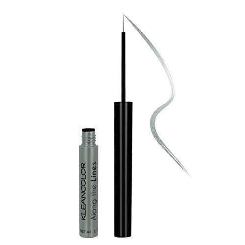 KLEANCOLOR Along The Lines 28 Color Collection - Liquid Eyeliner (Sharkskin) (Collection Sharkskin)
