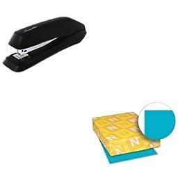 KITSWI54501WAU21849 - Value Kit - Neenah Paper Astrobrights Colored Paper (WAU21849) and Swingline Standard Strip Desk Stapler (SWI54501)