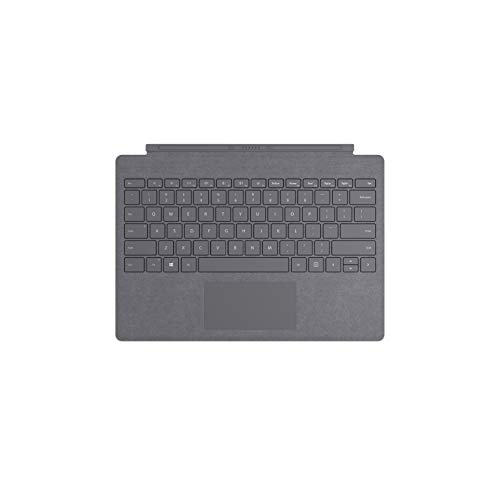 Microsoft Surface Pro Type Cover (QWERTZ Keyboard) Platin Grau