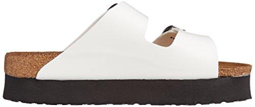 Sandales femme Blanc Papillo Vernis Blanc Arizona 6wq5fEU5