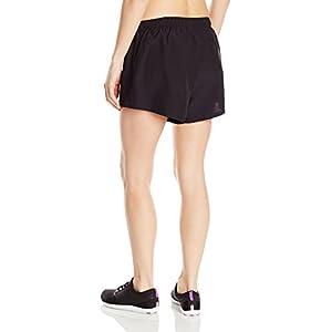 "New Balance Womens 3"" woven Short, black, Large"