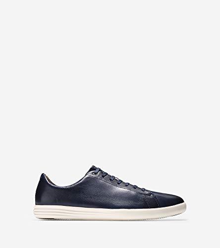 Cole Haan Men's Grand Crosscourt II Sneakers, Navy Leather Brnsh, 9.5