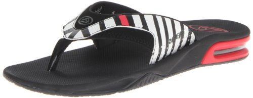 Prints Flip Stripes Speed Fanning Men's Logo Black Reef Flop HOwCZqa