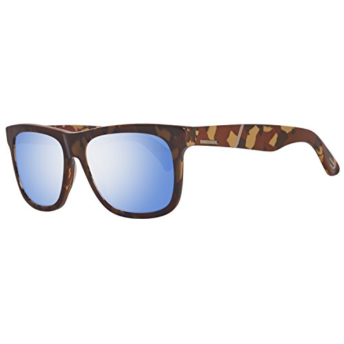 Sunglasses Diesel DL 116 DL0116 44X orange/other / blu mirror